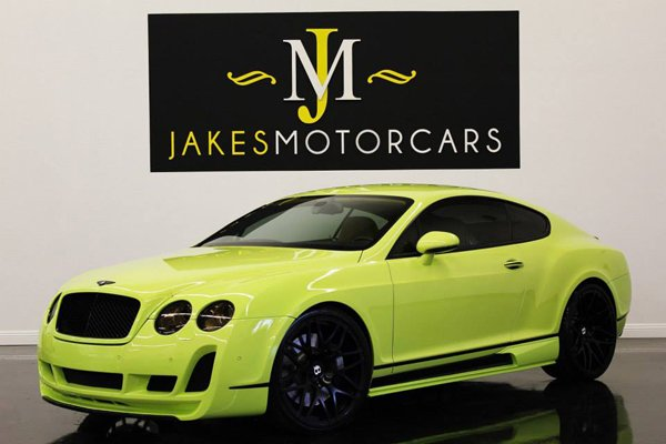 Bentley Continental GT от Jakes Motor Cars