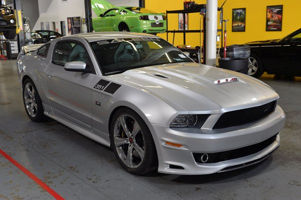 Saleen 351 Supercharged Mustang