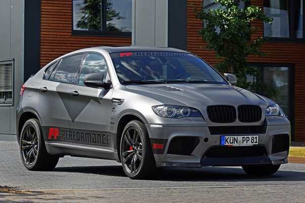 BMW X6M от Cam Shaft и PP-Performance
